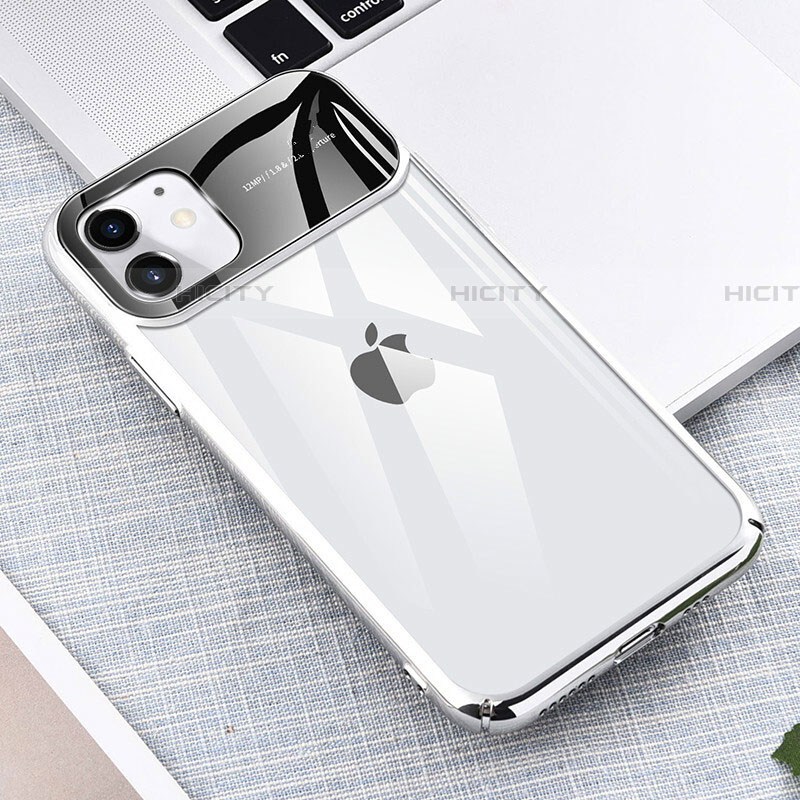 Cover Crystal Trasparente Rigida Cover S04 per Apple iPhone 11