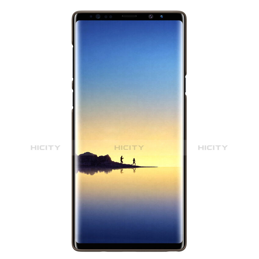 Cover Plastica Rigida Opaca M04 per Samsung Galaxy Note 9 Marrone