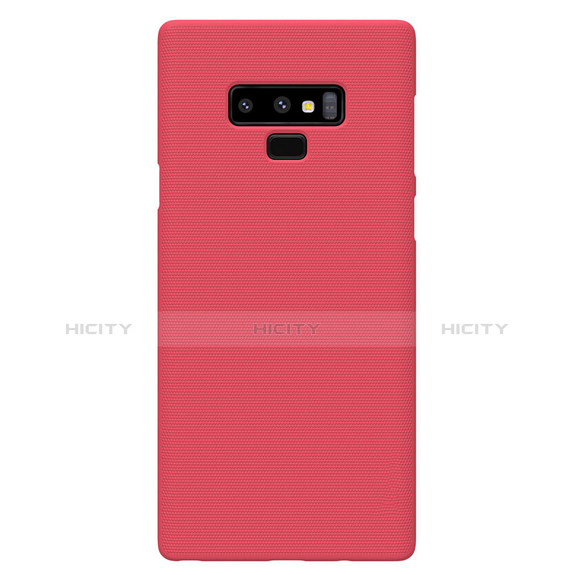 Cover Plastica Rigida Opaca M04 per Samsung Galaxy Note 9 Rosso