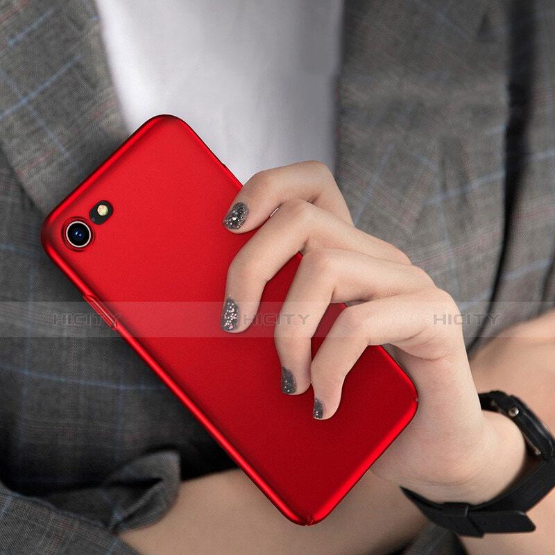 Cover Plastica Rigida Opaca M10 per Apple iPhone 8 Rosso
