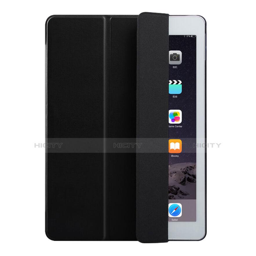 Cover Portafoglio In Pelle con Supporto per Apple iPad Air 2 Nero