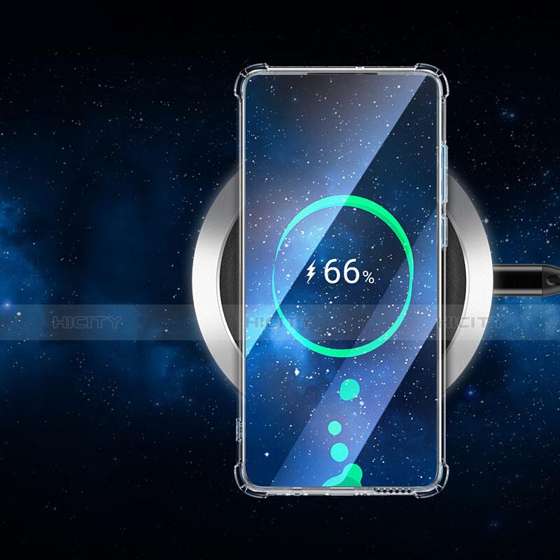 Cover Silicone Trasparente Ultra Sottile Morbida T05 per Huawei P30 Chiaro