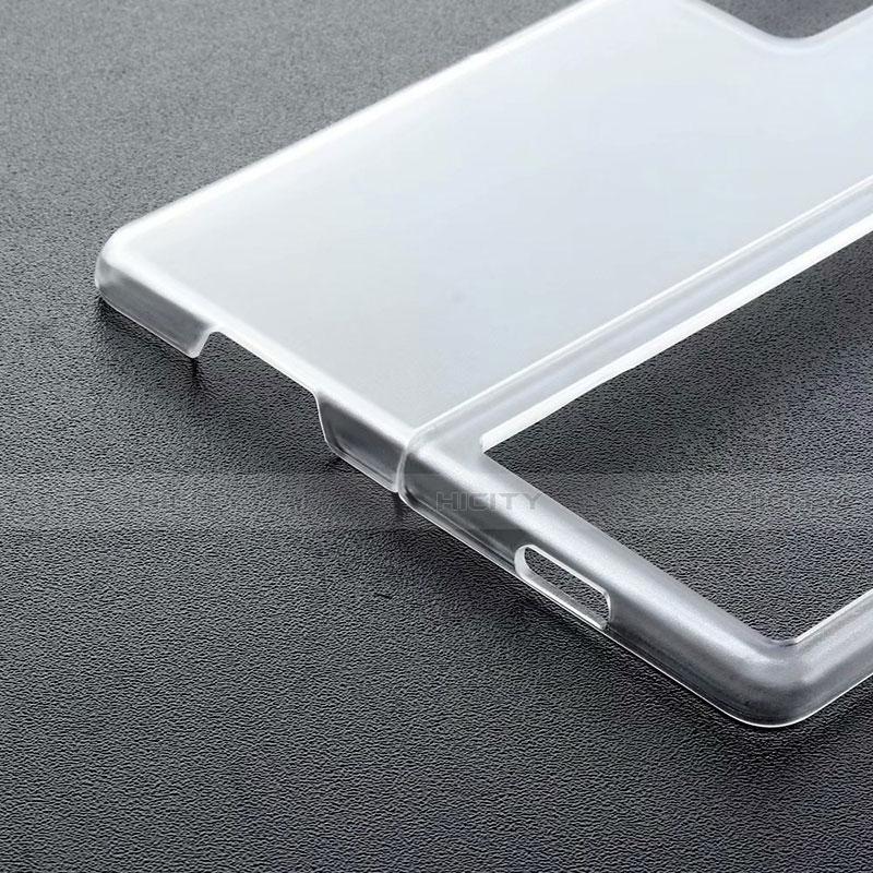 Custodia Crystal Trasparente Rigida per Samsung Galaxy Z Fold2 5G Nero