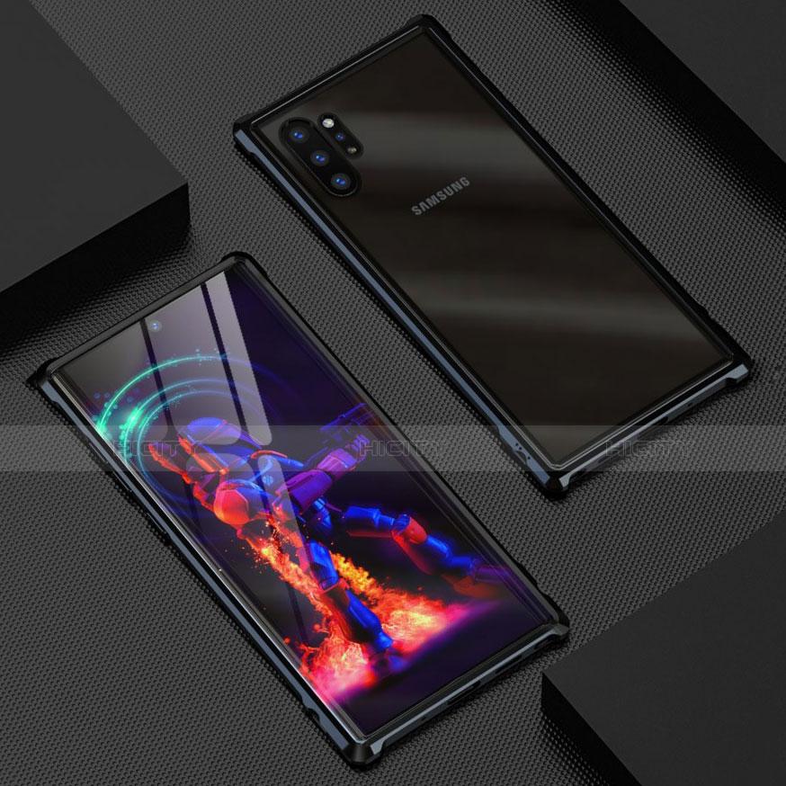 Custodia Lusso Alluminio Laterale Specchio 360 Gradi Cover G01 per Samsung Galaxy Note 10 Plus 5G