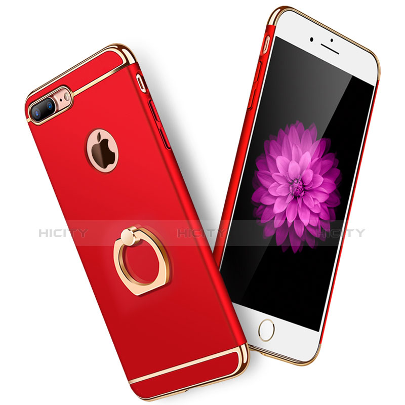 Custodia Iphone 8 Plus Bianco Metallo Cover Iphone 8 Plus