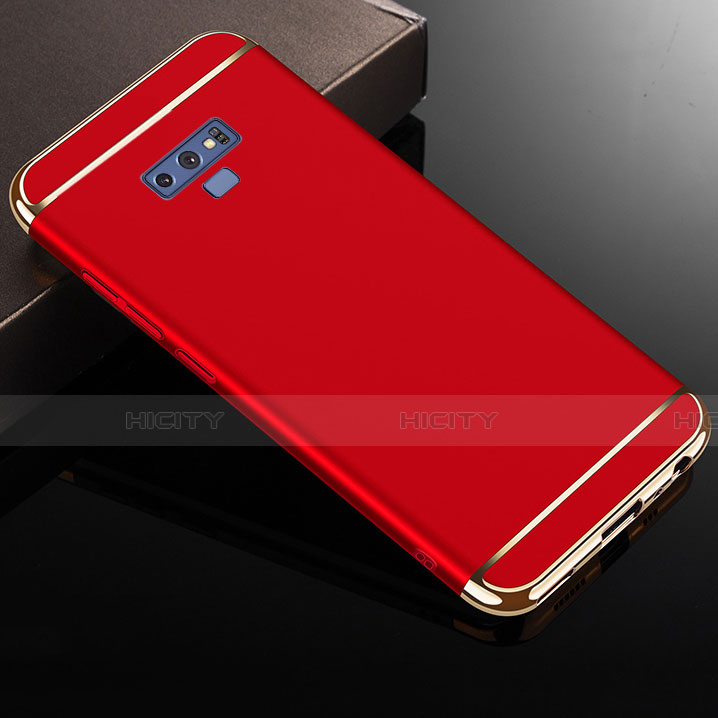 Custodia Lusso Metallo Laterale e Plastica Cover M01 per Samsung Galaxy Note 9