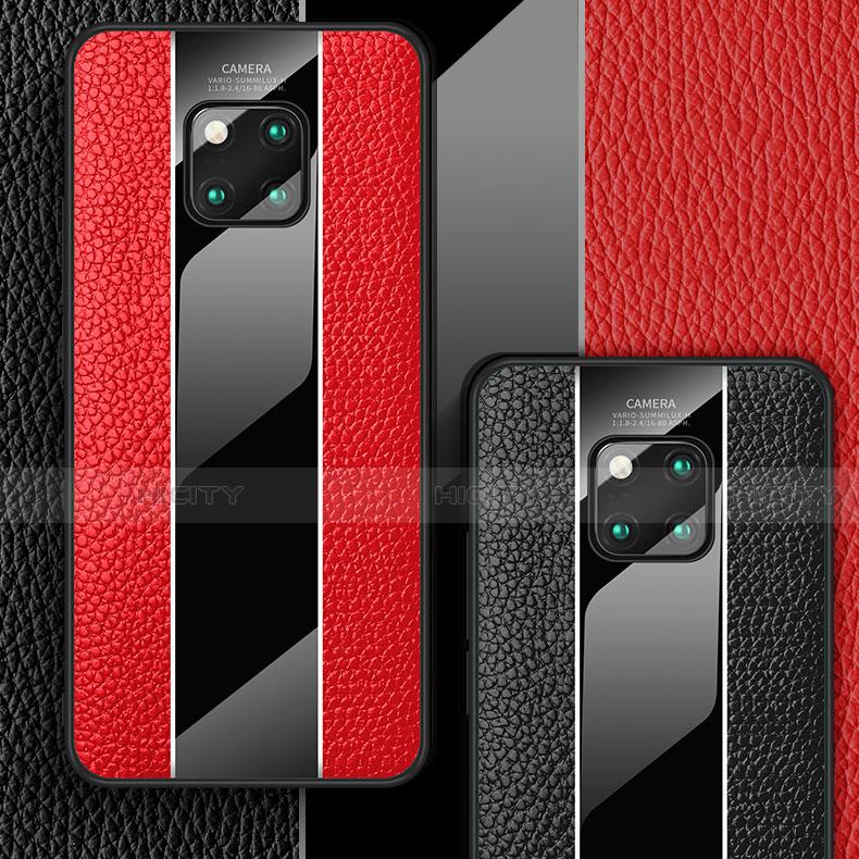 Custodia Lusso Pelle Cover S01 per Huawei Mate 20 Pro