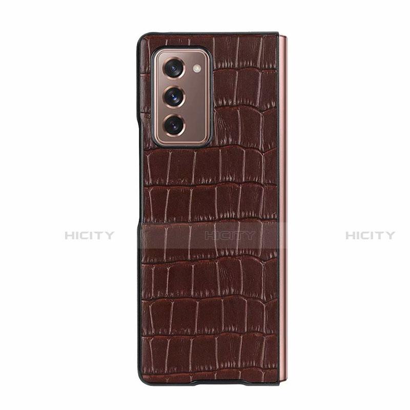 Custodia Lusso Pelle Cover S02 per Samsung Galaxy Z Fold2 5G