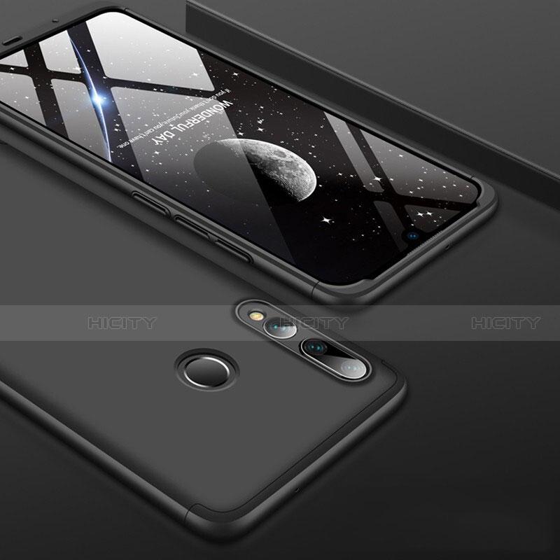 Custodia Plastica Rigida Cover Opaca Fronte e Retro 360 Gradi per Huawei Honor 20 Lite Nero