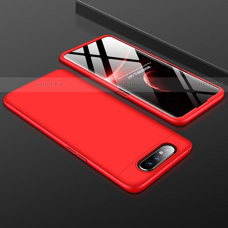 Custodia Plastica Rigida Cover Opaca Fronte e Retro 360 Gradi per Samsung Galaxy A80