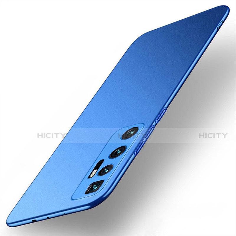 Custodia Plastica Rigida Cover Opaca M01 per Xiaomi Mi 10 Ultra Blu