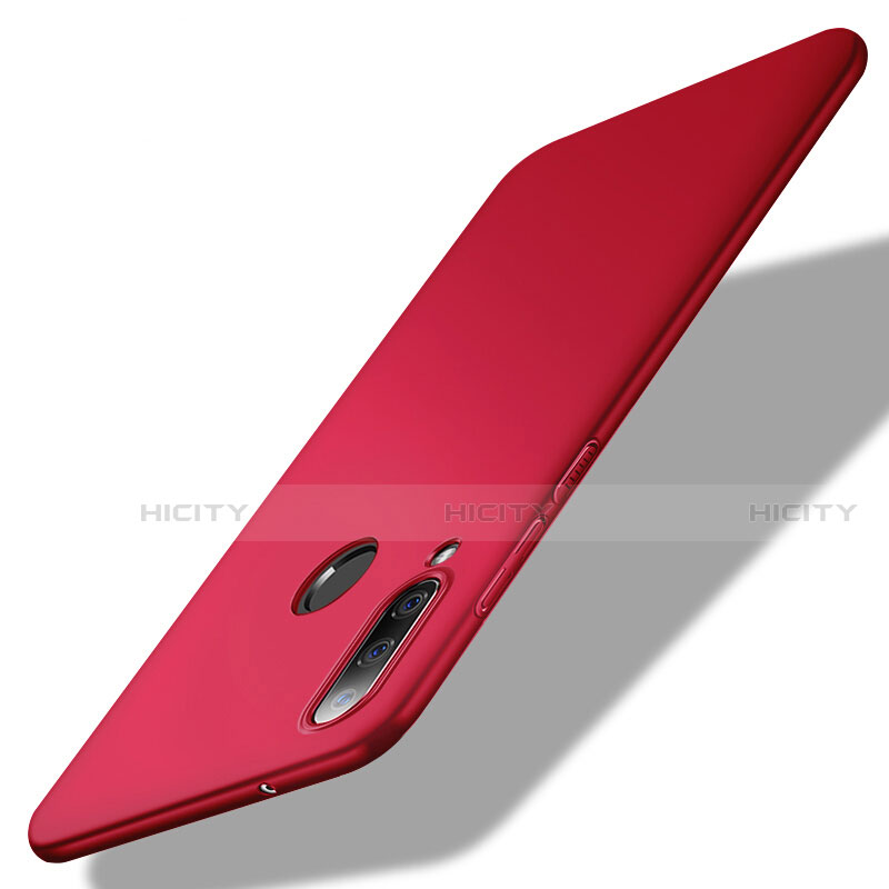 Custodia Plastica Rigida Cover Opaca M02 per Huawei Honor 20 Lite Rosso