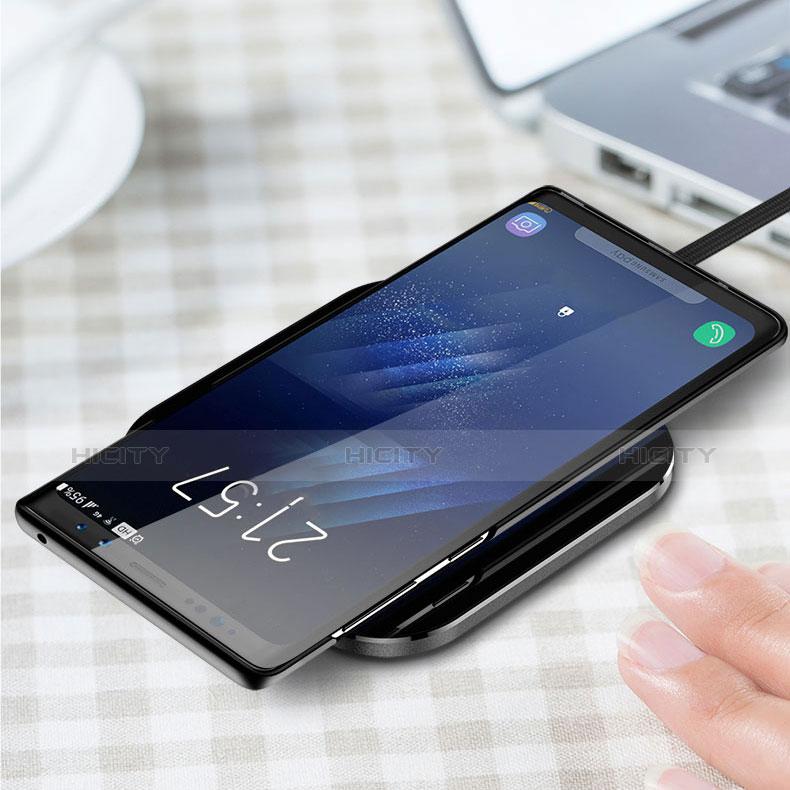 Custodia Plastica Rigida Opaca M03 per Samsung Galaxy Note 9 Nero