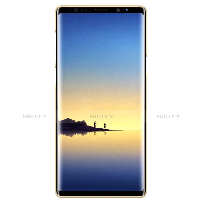 Custodia Plastica Rigida Opaca M04 per Samsung Galaxy Note 9 Oro