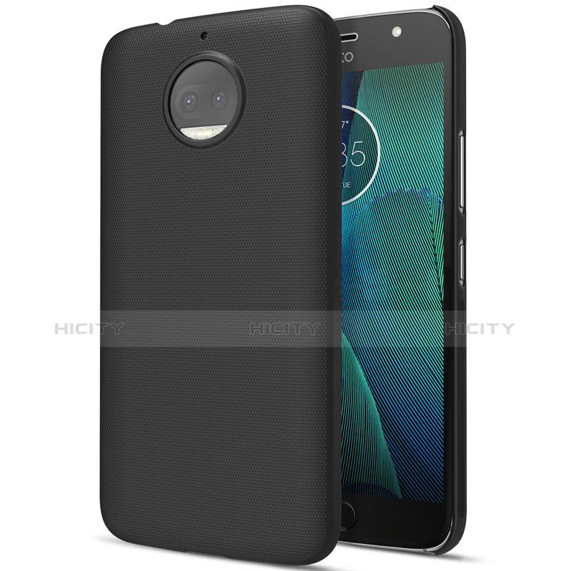 Custodia Plastica Rigida Opaca per Motorola Moto G5S Plus Nero