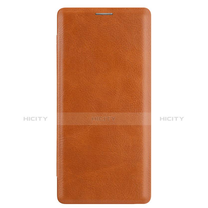 Custodia Portafoglio In Pelle con Stand per Samsung Galaxy Note 9 Marrone