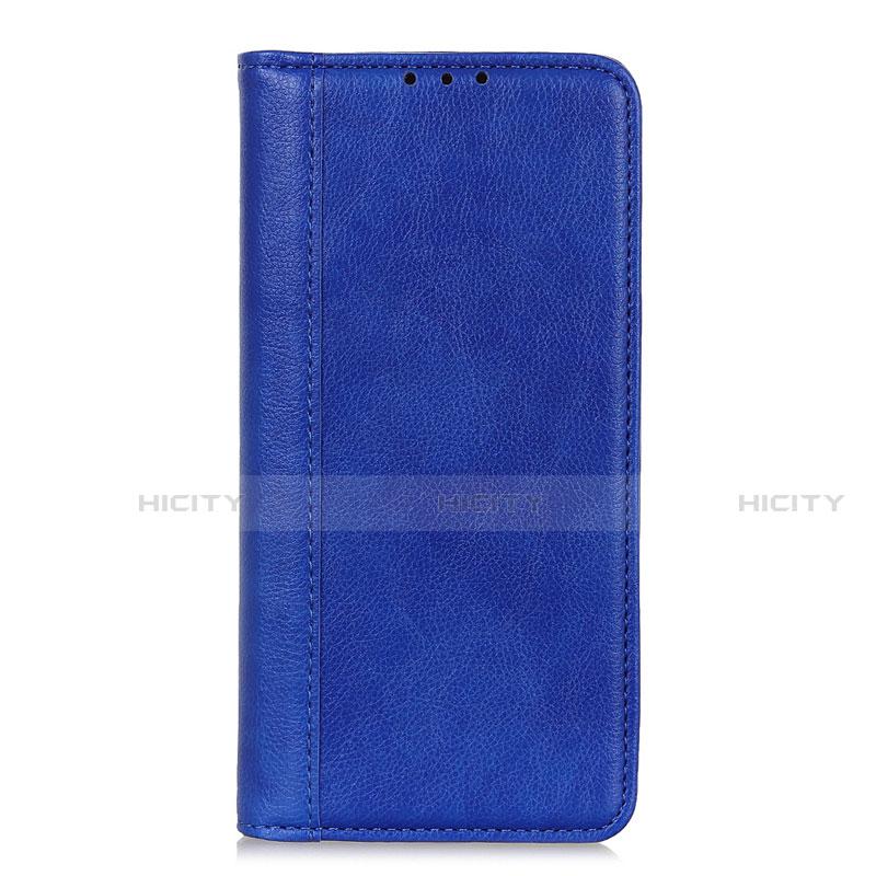 Custodia Portafoglio In Pelle Cover con Supporto L01 per Motorola Moto G9 Plus Blu