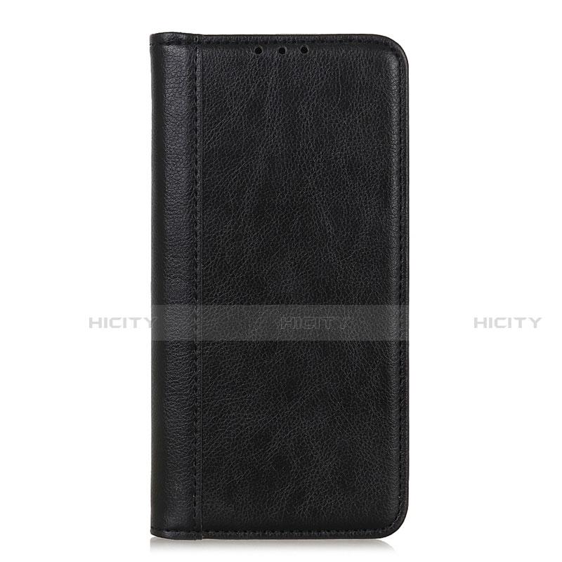 Custodia Portafoglio In Pelle Cover con Supporto L01 per Motorola Moto G9 Plus Nero