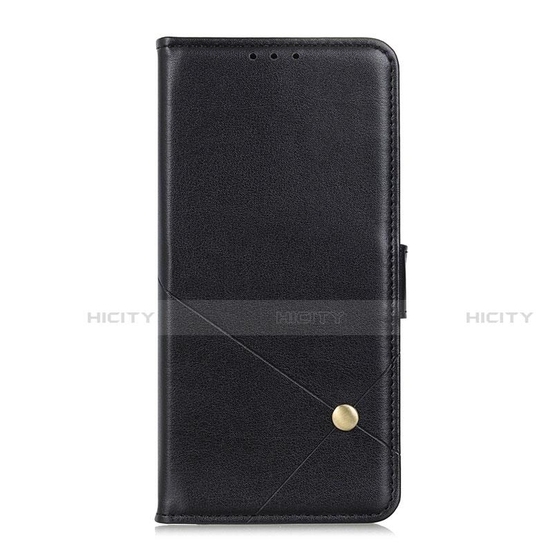 Custodia Portafoglio In Pelle Cover con Supporto L02 per Motorola Moto G9 Plus Nero