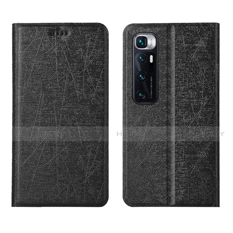 Custodia Portafoglio In Pelle Cover con Supporto L03 per Xiaomi Mi 10 Ultra Nero