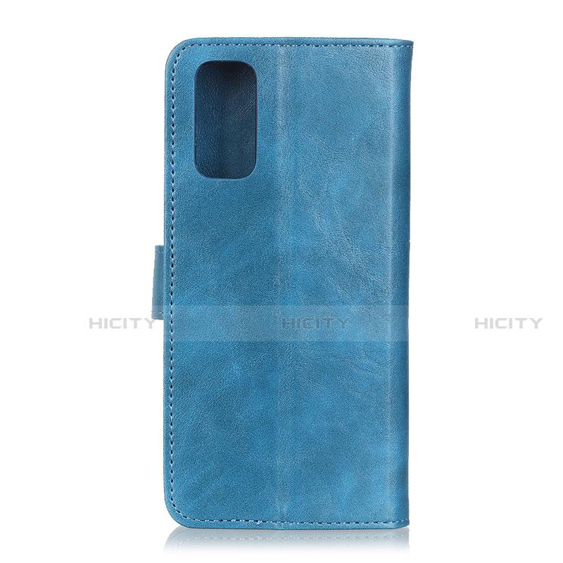 Custodia Portafoglio In Pelle Cover con Supporto L04 per Motorola Moto G9 Plus