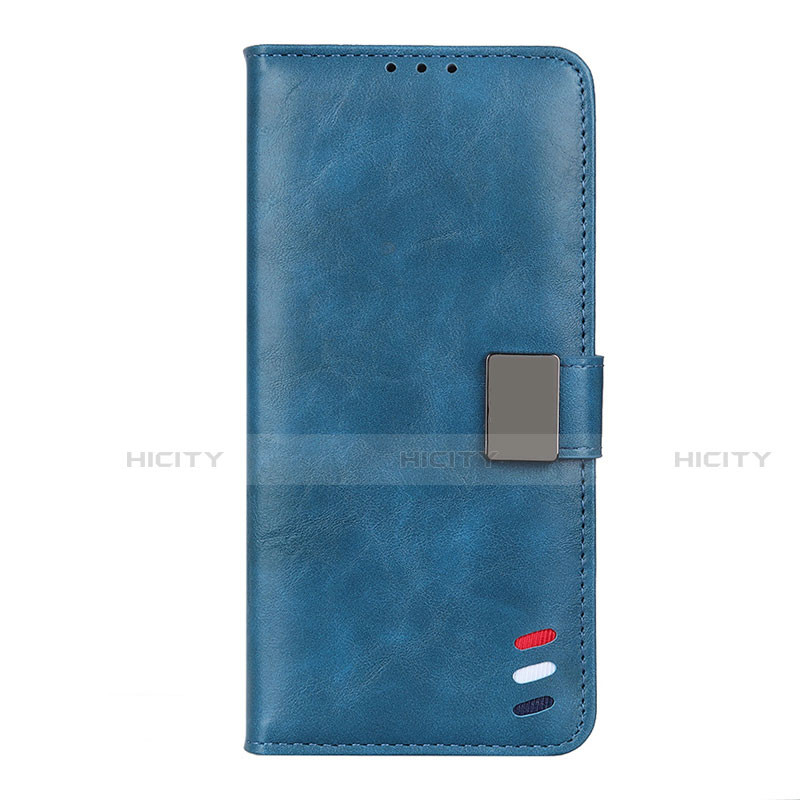 Custodia Portafoglio In Pelle Cover con Supporto L04 per Motorola Moto G9 Plus Blu