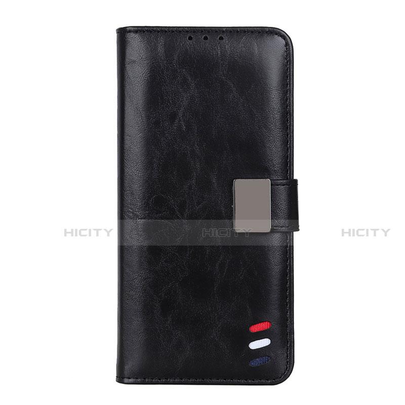 Custodia Portafoglio In Pelle Cover con Supporto L04 per Motorola Moto G9 Plus Nero