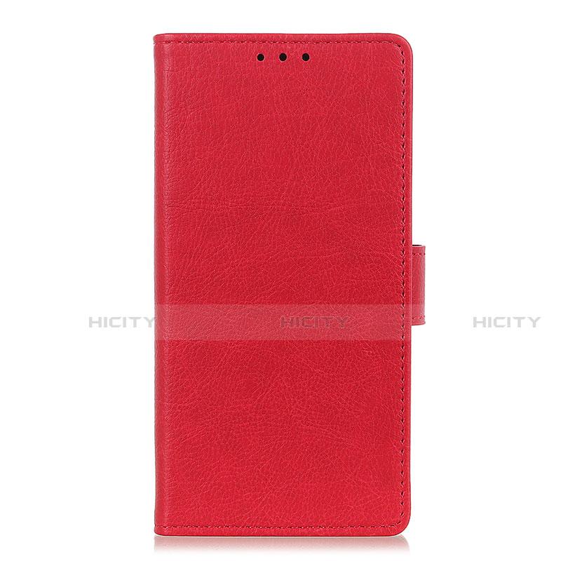 Custodia Portafoglio In Pelle Cover con Supporto L04 per Oppo Reno3 A Rosso