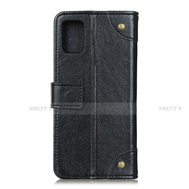 Custodia Portafoglio In Pelle Cover con Supporto L06 per Motorola Moto G9 Plus