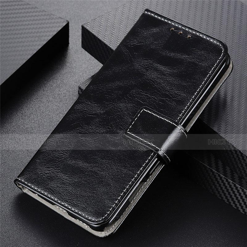 Custodia Portafoglio In Pelle Cover con Supporto L07 per Motorola Moto G9 Plus Nero