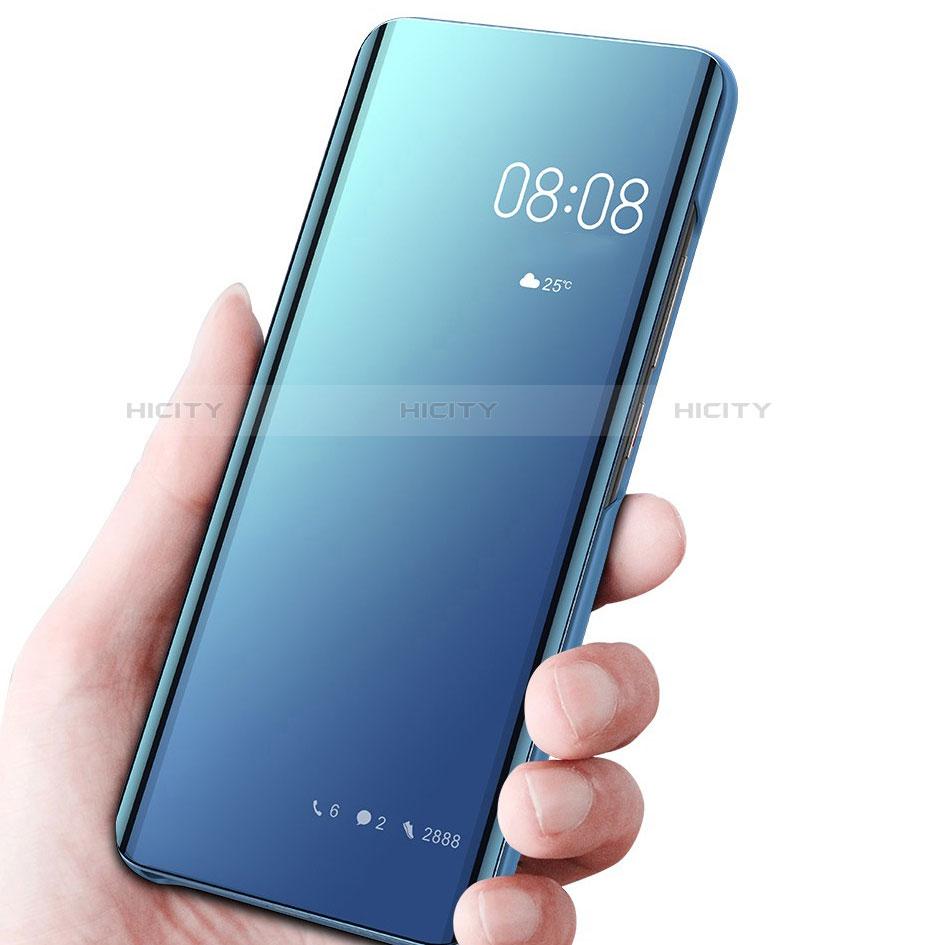 Custodia Portafoglio In Pelle Cover con Supporto Laterale Specchio Cover per Samsung Galaxy Note 10 Plus 5G