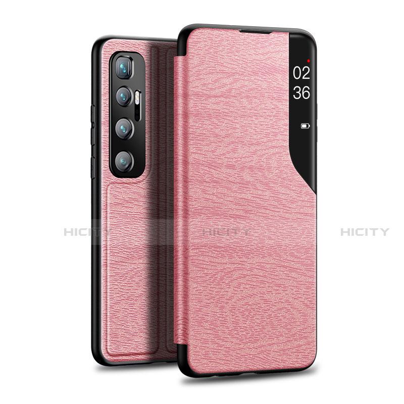 Custodia Portafoglio In Pelle Cover con Supporto per Xiaomi Mi 10 Ultra Oro Rosa