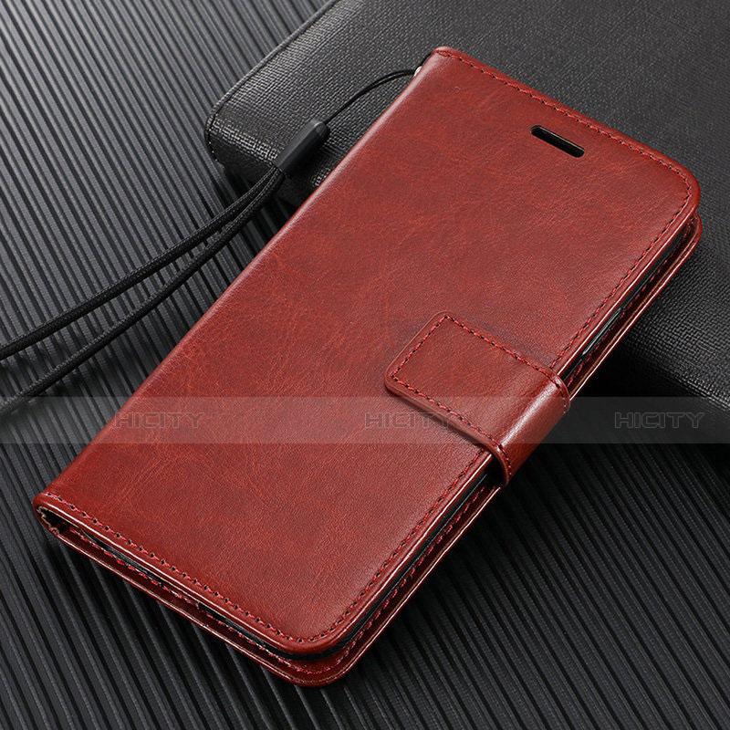 Custodia Portafoglio In Pelle Cover con Supporto T09 per Oppo Find X2 Pro