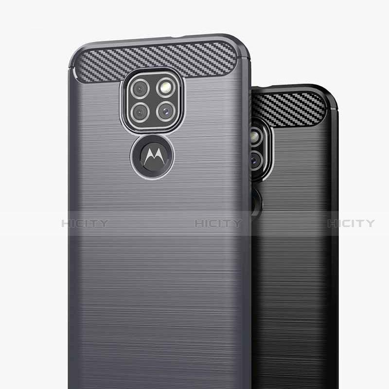 Custodia Silicone Cover Morbida Line S01 per Motorola Moto G9