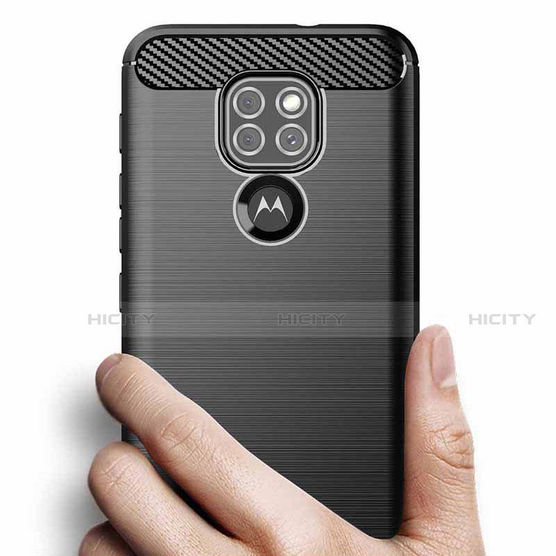 Custodia Silicone Cover Morbida Line S01 per Motorola Moto G9 Play
