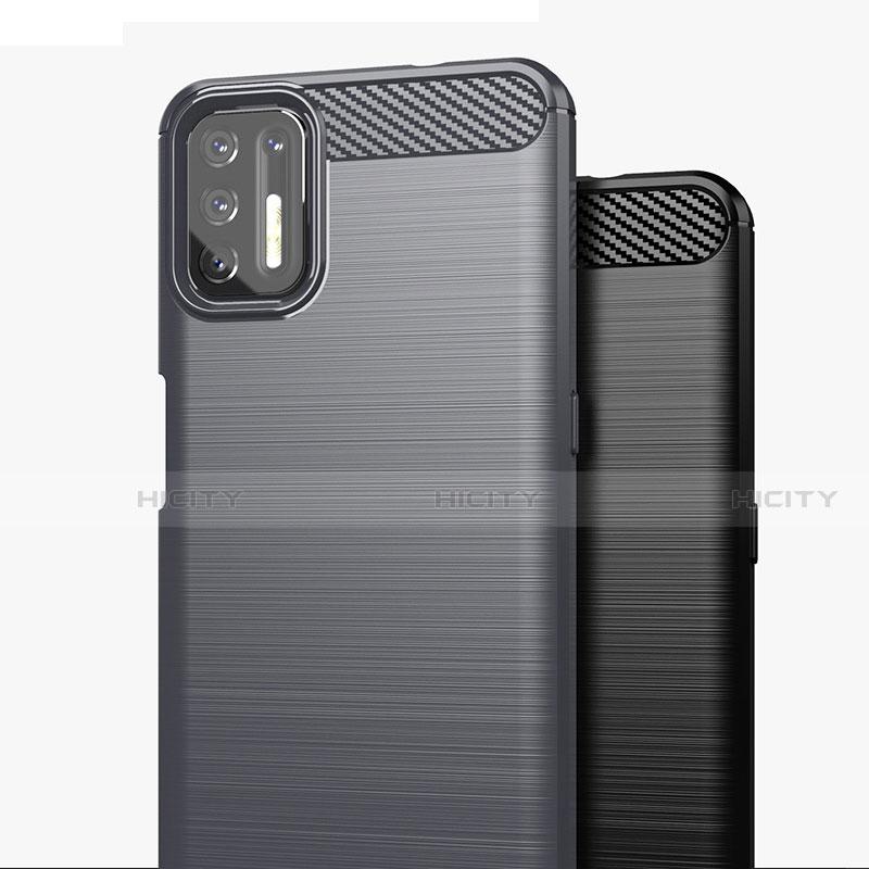 Custodia Silicone Cover Morbida Line S01 per Motorola Moto G9 Plus