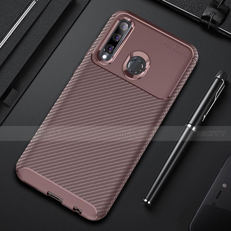 Custodia Silicone Cover Morbida Spigato per Huawei Honor 20 Lite
