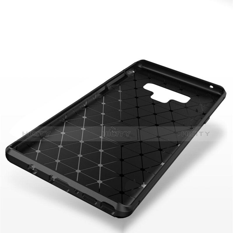 Custodia Silicone Cover Morbida Spigato T01 per Samsung Galaxy Note 9