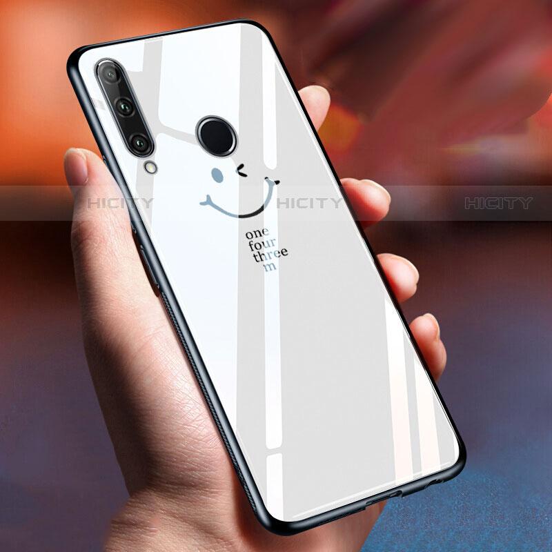 Custodia Silicone Gel Laterale Fantasia Modello Specchio Cover per Huawei Honor 20 Lite