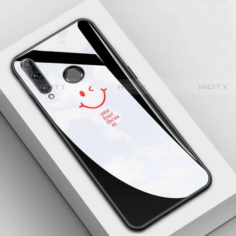 Custodia Silicone Gel Laterale Fantasia Modello Specchio Cover per Huawei Honor 20 Lite Nero
