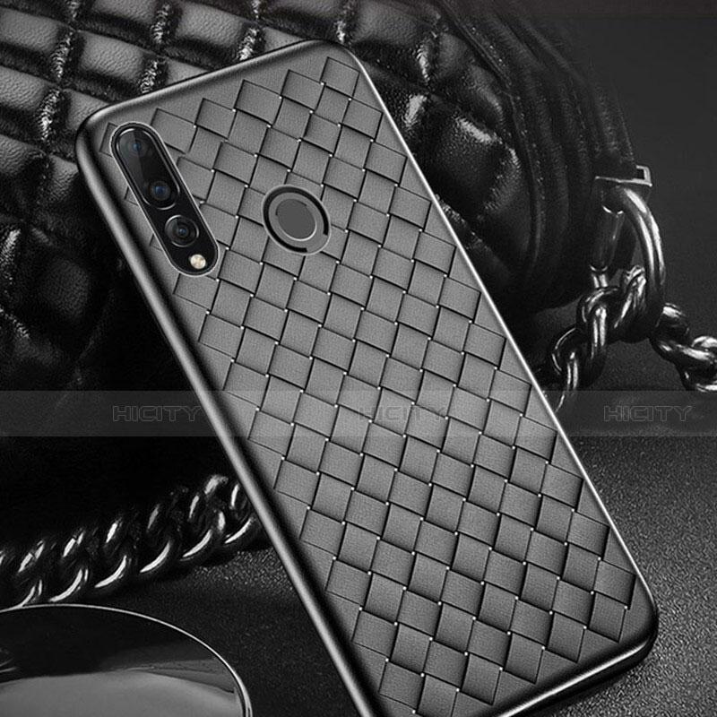 Custodia Silicone Morbida In Pelle Cover A01 per Huawei Honor 20 Lite