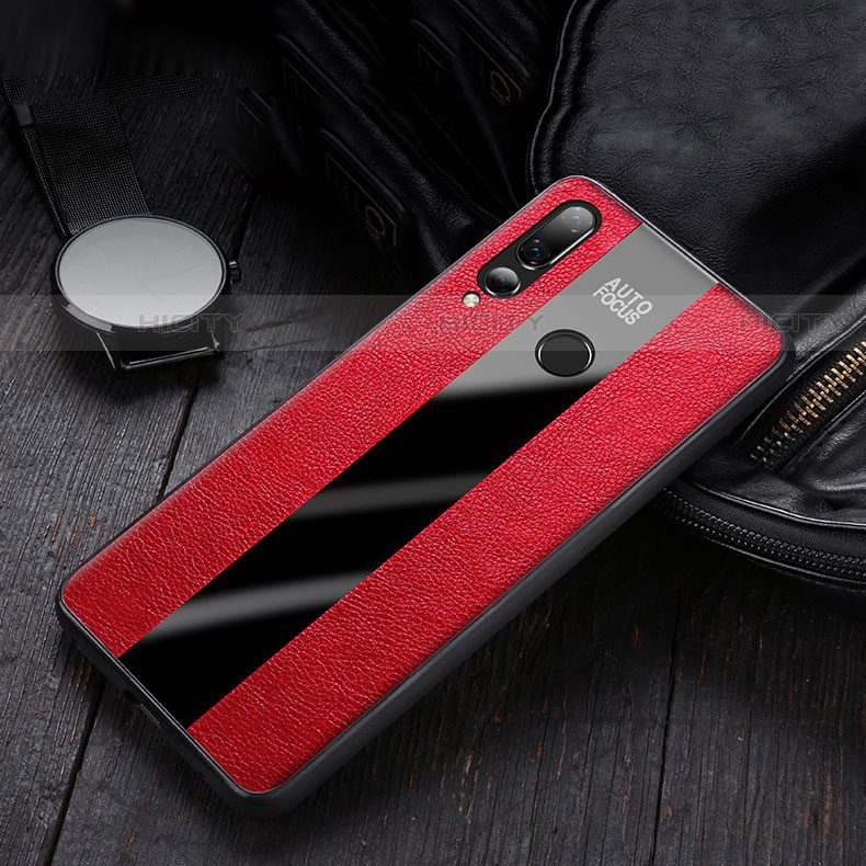 Custodia Silicone Morbida In Pelle Cover per Huawei Honor 20 Lite