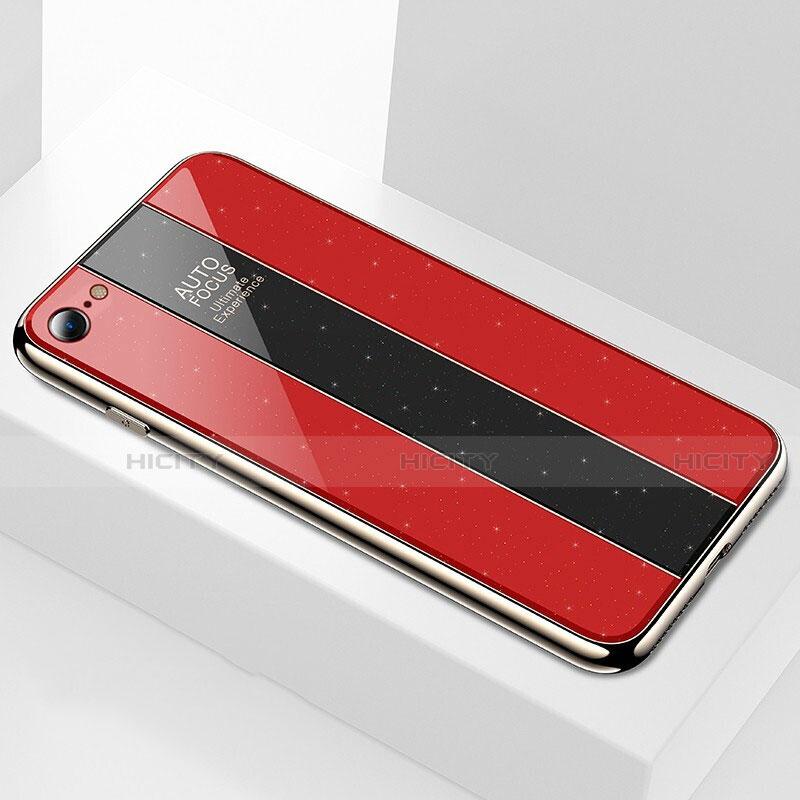 Custodia Plastica e Silicone Perforato per Apple iPhone X Bianco
