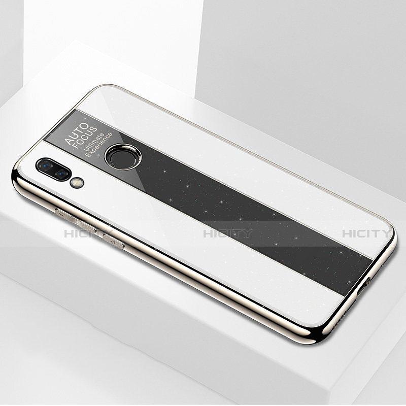 Custodia Silicone Specchio Laterale Cover M03 per Huawei P20 Lite Nero