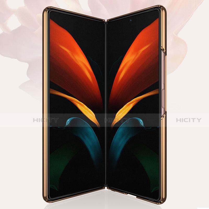 Custodia Silicone Specchio Laterale Cover per Samsung Galaxy Z Fold2 5G