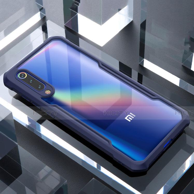 Custodia Silicone Trasparente Specchio Laterale Cover M02 per Xiaomi Mi 9 SE