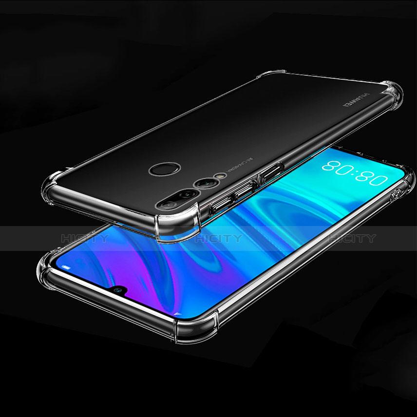 Custodia Silicone Trasparente Ultra Sottile Cover Morbida H01 per Huawei Honor 20 Lite Chiaro