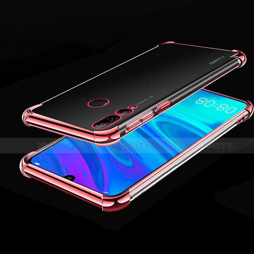 Custodia Silicone Trasparente Ultra Sottile Cover Morbida H01 per Huawei Honor 20 Lite Oro Rosa