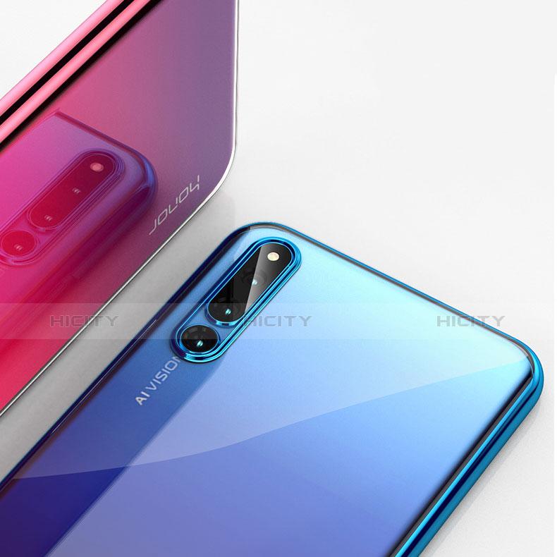 Custodia Silicone Trasparente Ultra Sottile Cover Morbida H01 per Huawei Honor Magic 2