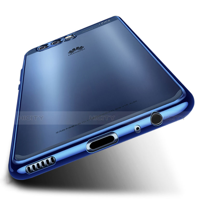 Custodia Silicone Trasparente Ultra Sottile Cover Morbida H03 per Huawei P10 Plus